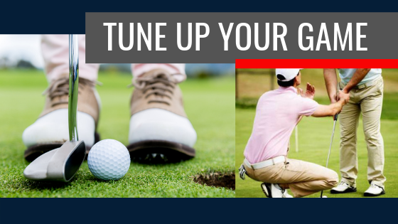 You can practice putting anytime!